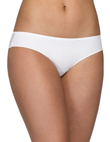 Hanky Panky Lady Catherine Bare Bridal Briefs-MARSHMELLOW-Large