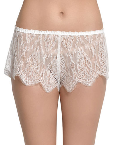 Hanky Panky Alexandra Tap Pants-LIGHT IVORY-Large