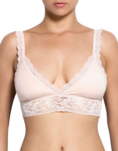 Hanky Panky Cotton With A Conscience Padded Bralette-CHAI-X-Small