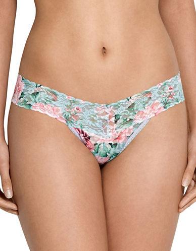 Hanky Panky Capri Bloom Low Rise Thong-MULTI PRINT-One Size