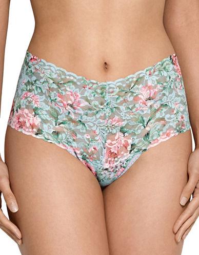 Hanky Panky Capri Bloom Retro Thong-MULTI PRINT-One Size