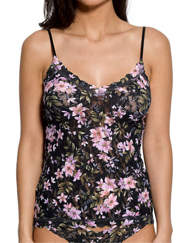 Hanky Panky Jardin Lace Camisole-FLORAL-X-Small