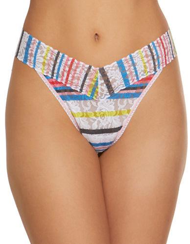 Hanky Panky Brighton Stripe Original Thong-MULTI-One Size