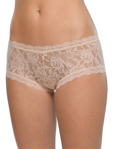 Hanky Panky Boy Short-BEIGE-Small