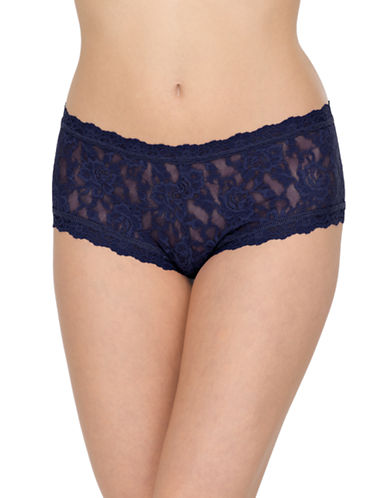 Hanky Panky Boy Short-NAVY-Medium