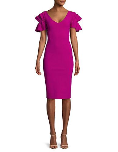 La Petite Robe Di Chiara Boni Ruffled Short-Sleeve Dress 89890921