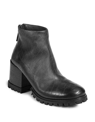 Marsell Marsey Leather Ankle Boots-BLACK-EUR 38.5/US 8.5