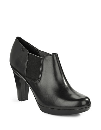 Geox Inspiration Leather Shooties-BLACK-EUR 40/US 10