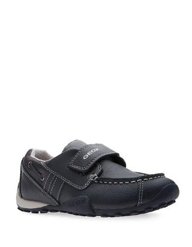 Geox J Snake Boys Moccasin Shoes-BLUE-11