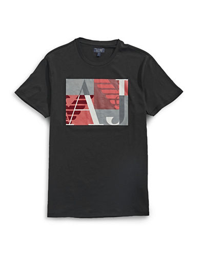 Armani Jeans Geo Logo T-Shirt-BLACK-Medium 88458026_BLACK_Medium