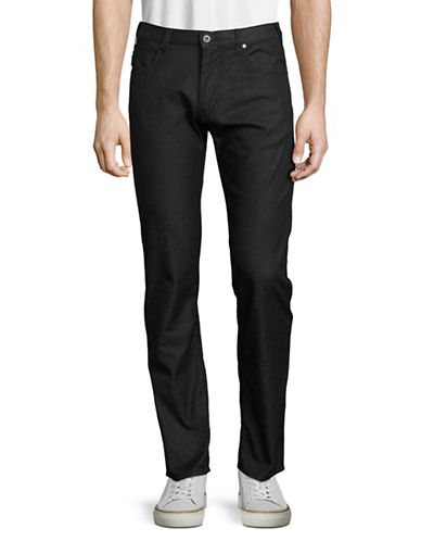 Armani Jeans Slim-Straight Fit Five-Pocket Pants-BLACK-28