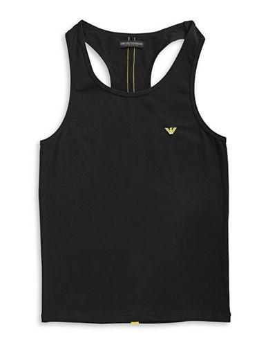 Emporio Armani Underwear Experience Push-Up Magnum Style Tank Top-BLACK-Small 88917226_BLACK_Small