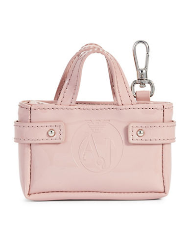 Armani Jeans Mini Louise Keychain-PINK-One Size