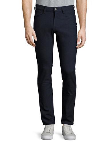Armani Jeans Slim-Fit Dot Pants-BLUE-34