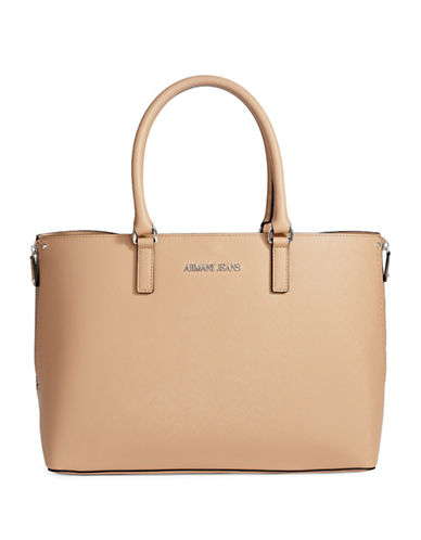 Armani Jeans Monaco Ecopelle Tote-NUDE-One Size 89064873_NUDE_One Size