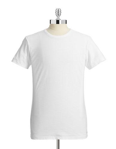 Diesel T-Tossik Slub T-Shirt-WHITE-X-Large 87338665_WHITE_X-Large