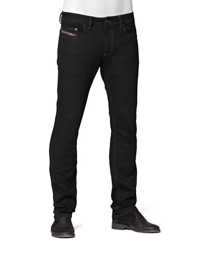 Diesel Thavar Skinny Jeans-BLACK-31X32