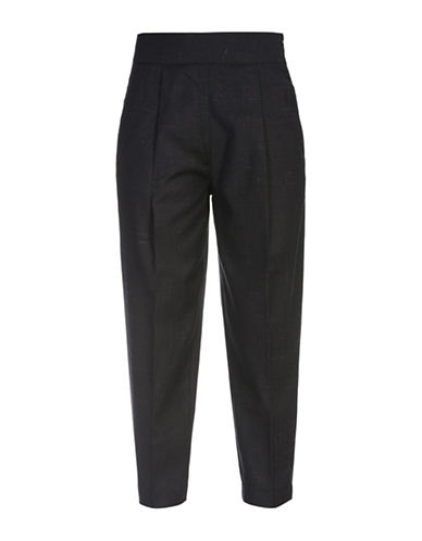 Diesel P-Xety Wool and Linen Blend Trousers-BLACK-26