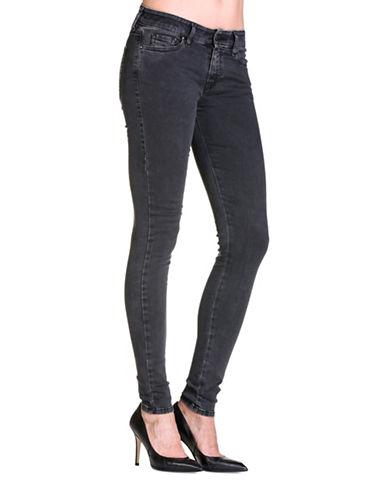 Diesel Slandy Skinny Jeans-BLACK-31