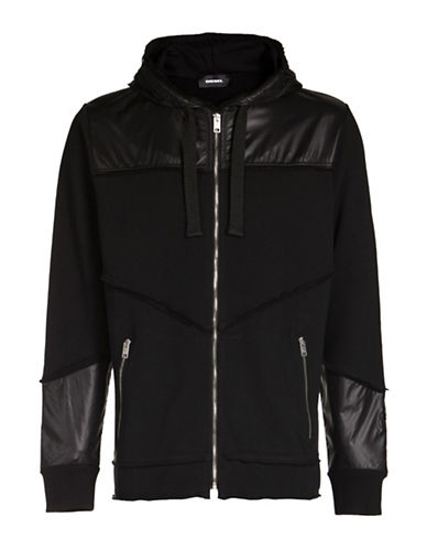 Diesel Harrows Zip Hoodie-BLACK-Large 89052979_BLACK_Large