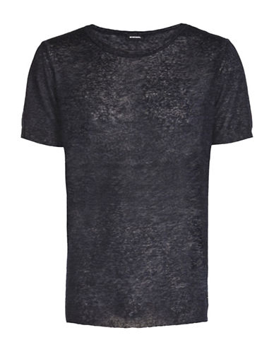 Diesel Leo Pullover Tee-BLUE-Small 89050390_BLUE_Small