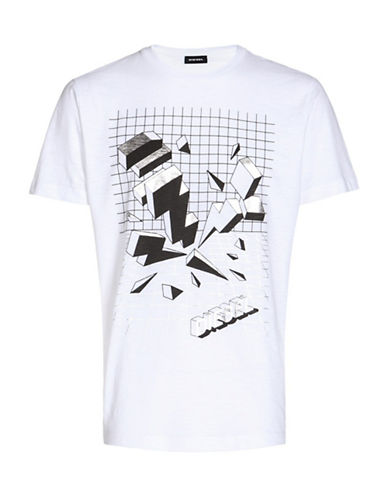 Diesel T-Joe-SX Graphic Tee-WHITE-Small 89048165_WHITE_Small