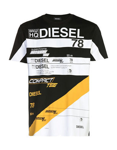 Diesel Jo T-Shirt-BLACK-Medium 89052839_BLACK_Medium