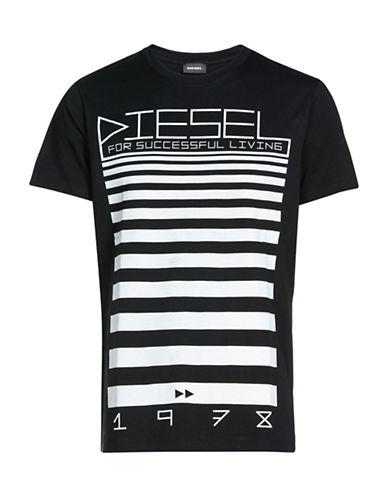 Diesel Diego Graphic T-Shirt-BLACK-XX-Large 89052996_BLACK_XX-Large