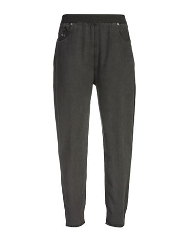 Diesel M-Florida Cotton Trousers-BLACK-Medium