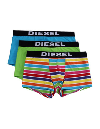 Diesel Three-Pack Umbx-Shawn Boxer Set-GREEN-Small