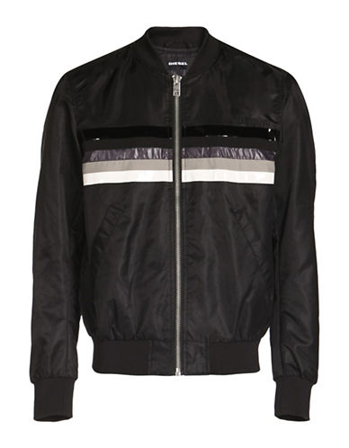 Diesel Slater Bomber Jacket-BLACK-XX-Large 89052851_BLACK_XX-Large