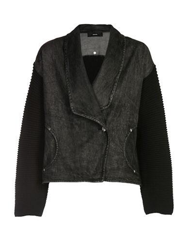 Diesel M-Techny Sweater-BLACK-X-Small 89040603_BLACK_X-Small