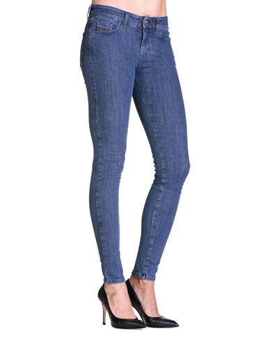 Diesel Slandy Super Slim-Skinny Jeans-BLUE-30