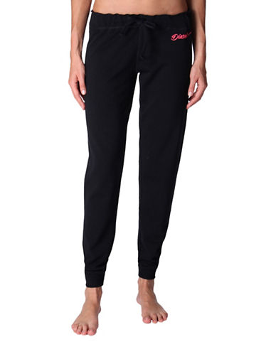 Diesel Tofee Cotton-Blend Sweatpants-BLACK-Medium 89009466_BLACK_Medium