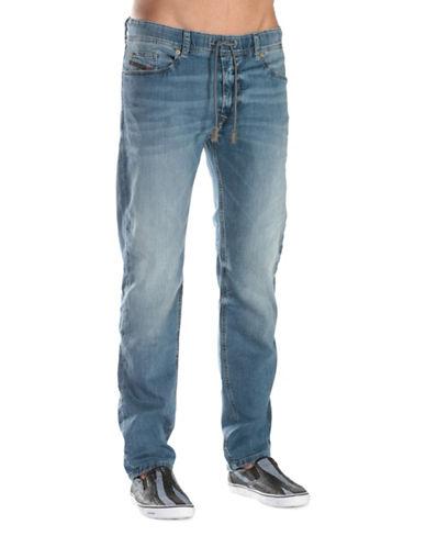 Diesel Straight-Fit Sweat jeans-BLUE-36