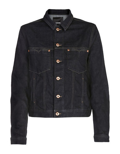Diesel De-Josef Denim Jacket-BROWN-Small 89040761_BROWN_Small