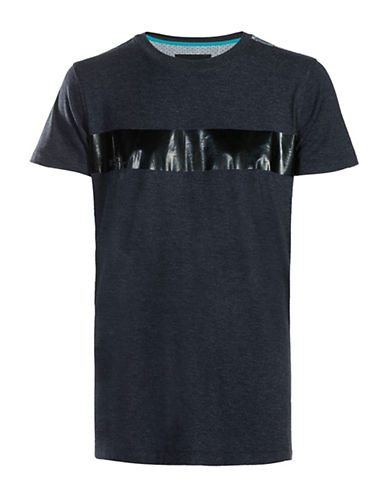 Diesel Contrast Panel Tee-BLACK-Medium 89052944_BLACK_Medium