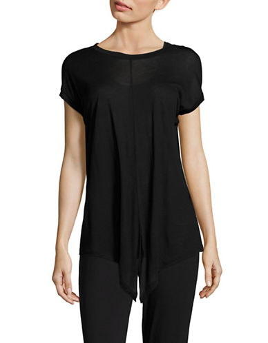 Diesel T-Fuxi-A Cap Sleeve Top-BLACK-Large