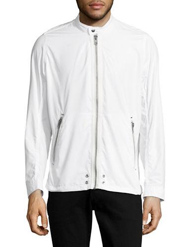Diesel Nylon Moto Jacket-WHITE-Large 89050298_WHITE_Large