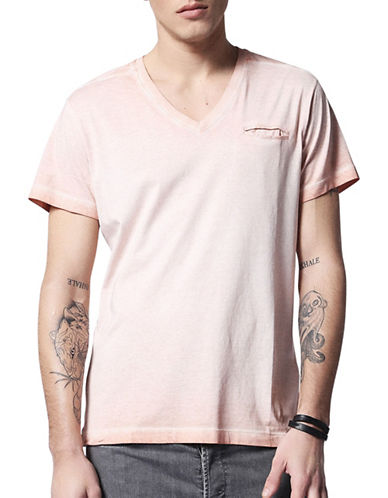 Diesel Diego Cotton Jersey Tee-PINK-X-Large 89050206_PINK_X-Large