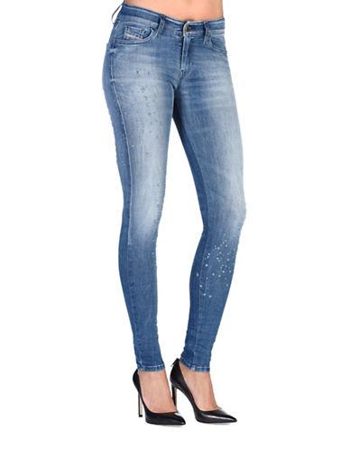 Diesel Slandy Super Skinny Jeans-BLUE-26