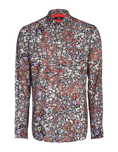 Diesel Nico Floral Sport Shirt-MULTI-Small