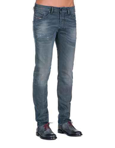 Diesel Belther Tapered Jeans-BLUE-31X32