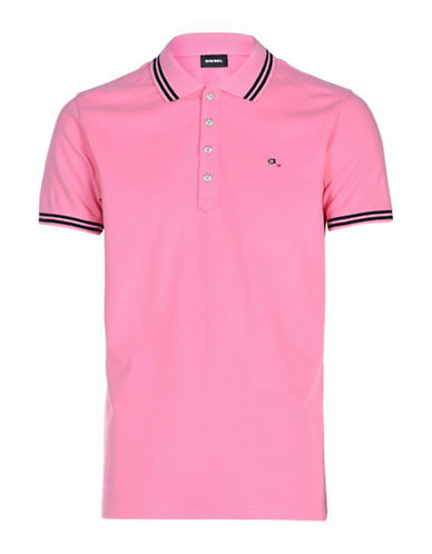 Diesel T-Randy Shirt-PINK-XXLarge