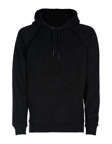 Diesel S-Roy Regular-Fit Hooded Sweatshirt-BLACK-XXLarge