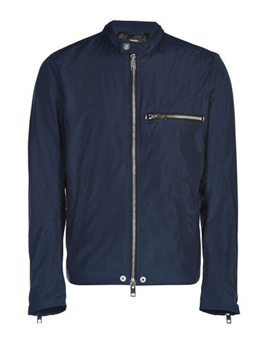 Diesel Banda Water Repellent Jacket-BLUE-Small
