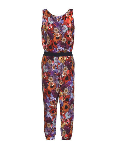 Diesel J-Merylin Jumpsuit-RED-Medium