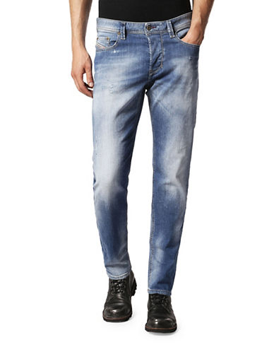 Diesel Waykee Straight-Fit Jeans-BLUE-28X32