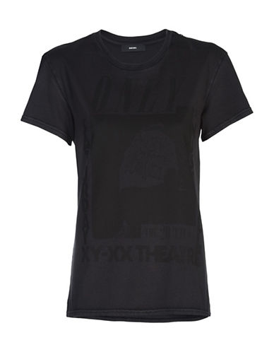 Diesel Sully Tonal Graphic Tee-BLACK-Small 89257950_BLACK_Small