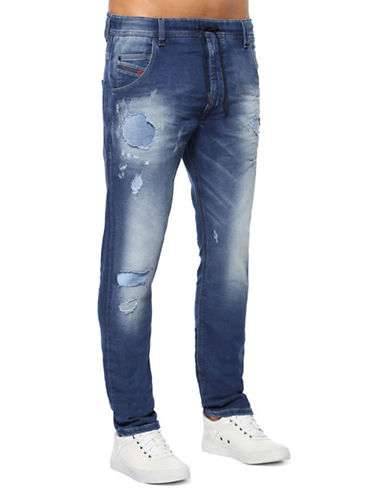Diesel Krooley-NE 084GV JoggJeans-BLUE-34